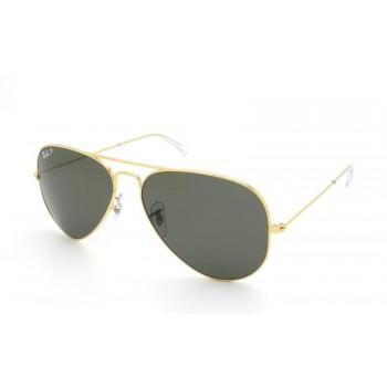 Óculos de Sol Ray-Ban AVIADOR RB3025L 001/58 58-14
