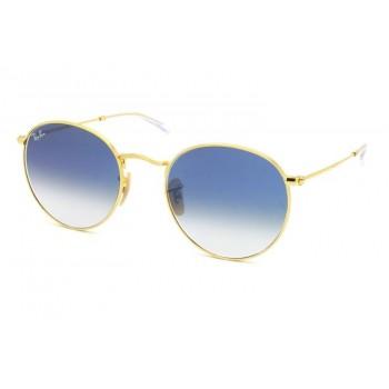 Óculos de Sol Ray-Ban ROUND METAL RB3447-NL 001/3F 53-21
